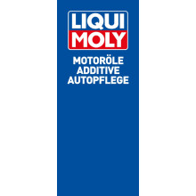 "Flag ""Motor Oils, Additives, Car Care""  (59,06 x 141,73 inch)*"